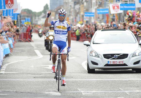 """Pieter Jacobs kwam vorig jaar als winnaar over de streep op de Bredabaan. """"Dit jaar winnen de werken"""", klinkt het ironisch bij de organisator."""
