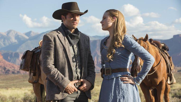Still uit de serie Westworld. Beeld Home Box Office