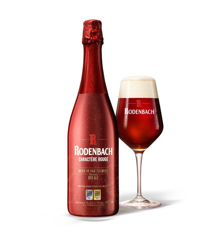 Rodenbach Caractère Rouge is uitgeroepen tot 'World's Best Sour & Wild Beer Fruit Lambic'