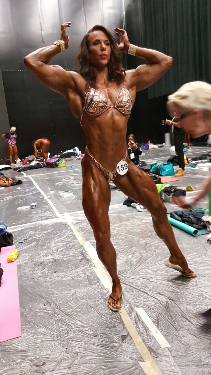 Maria Wattel uit Gapinge werd derde in wereldtitelstrijd bodybuilding.