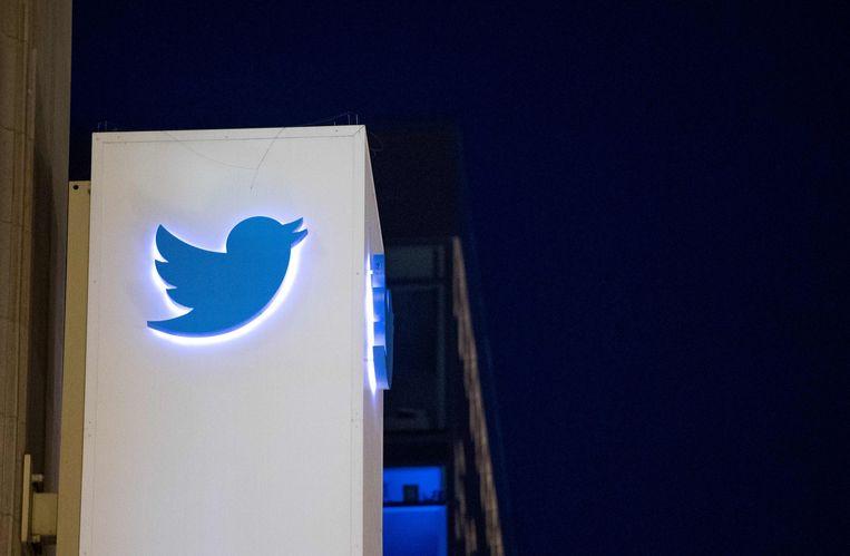 Het hoofdkantoor van Twitter in San Francisco.