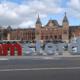 I amsterdam-letters zijn terug: op de telefoon