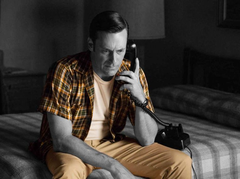 Jon Hamm in Mad Men. Beeld