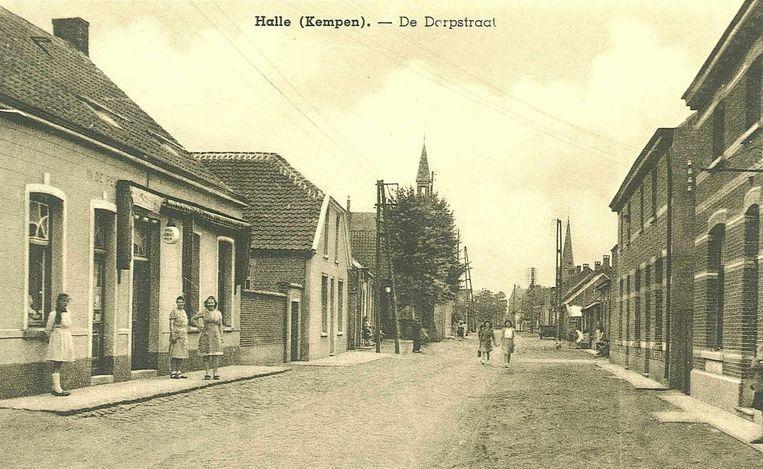 Halle-Dorp in 1950