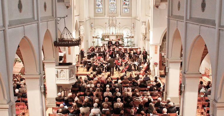 Het concert zal plaatsvinden in de kerk van Heist-Goor.