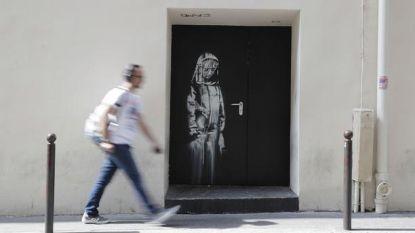 Dieven stelen werk Banksy aan Bataclan
