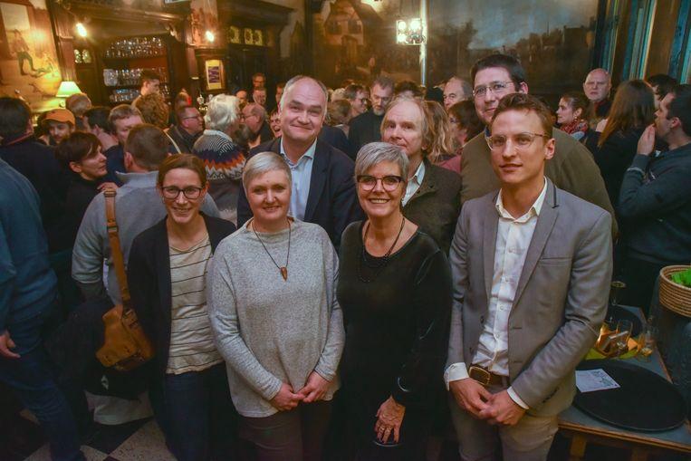 Groen & Co heeft 5 mandatarissen in het gemeentebestuur van Wetteren en klinkt op 2019.