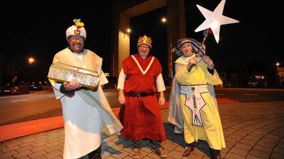 Drie koningen kondigen happening aan