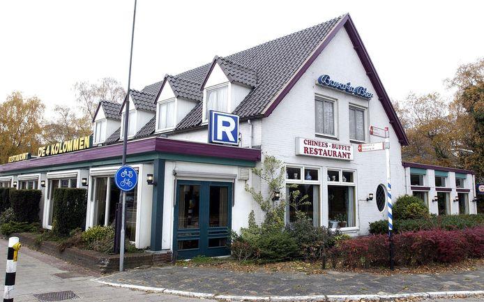 Buffetrestaurant De 4 Kolommen op de hoek N65-Helvoirtseweg in Vught.