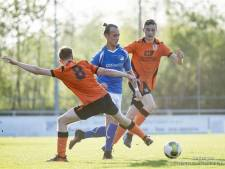 Uitslagen en doelpuntenmakers amateurvoetbal donderdagavond