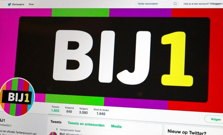 Het twitteraccount van de politieke partij van Sylvana Simons, die Artikel 1 heette, is omgedoopt tot BIJ1. Beeld anp