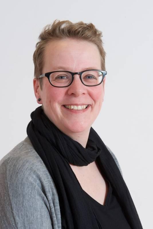 Fractievoorzitter Jorine Dirks van de SP in Rheden.