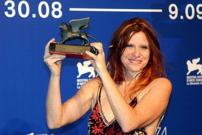 """La réalisatrice italienne a été récompensée pour son film """"Nico 1988""""."""