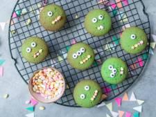 Eerste Hulp bij Kindertraktaties: Monster cupcakes