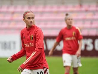 """Red Flame Julie Biesmans kijkt al uit naar beslissend duel om groepswinst op 1 december: """"Op ons sterkst kunnen we Zwitserland aan"""""""