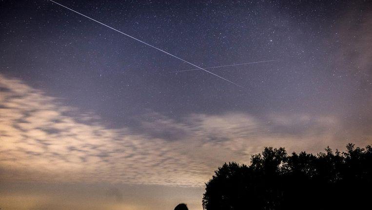 Rond 3.30 uur zijn de komende dagen de meeste vallende sterren te zien. Beeld ANP