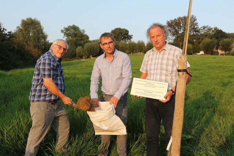 Jean-Pierre Geelhand de Merxem, Bart Vanacker en Marc Lewyllie.