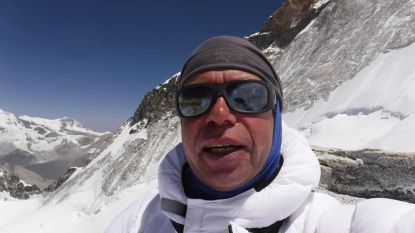 Jonas (49) bereikt als eerste Belg top van 8.463 meter hoge Makalu