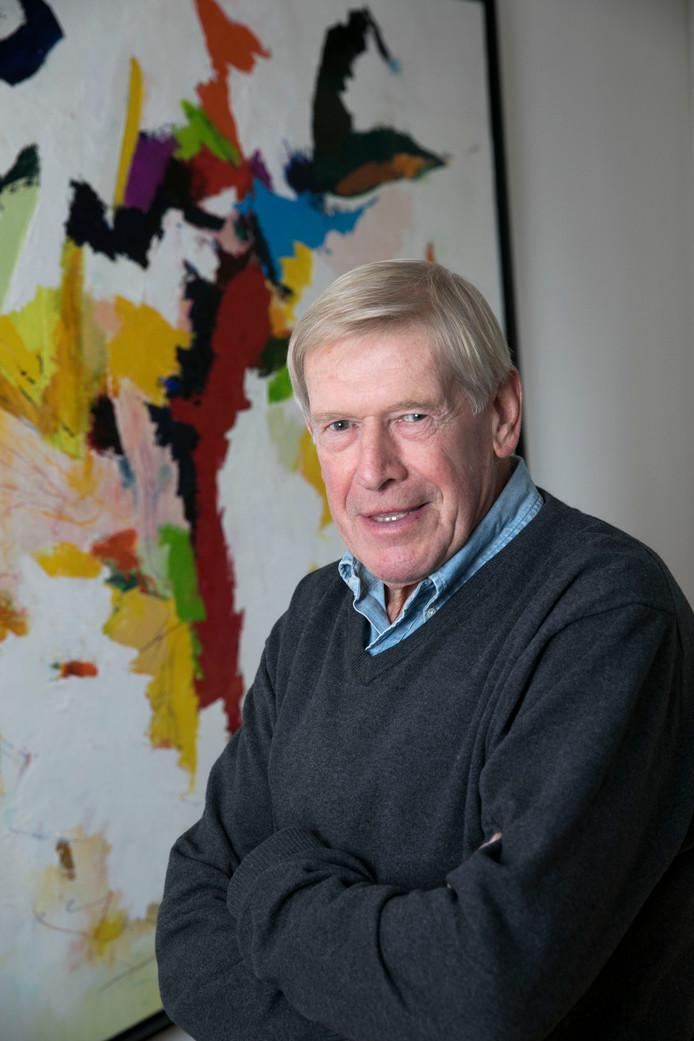 Peter Kemper in Eindhoven, vandaag wordt hij 75 jaar.
