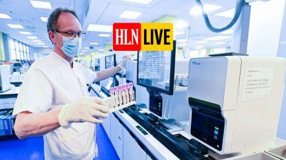 OVERZICHT. Gemiddeld aantal besmettingen met coronavirus per dag stijgt licht