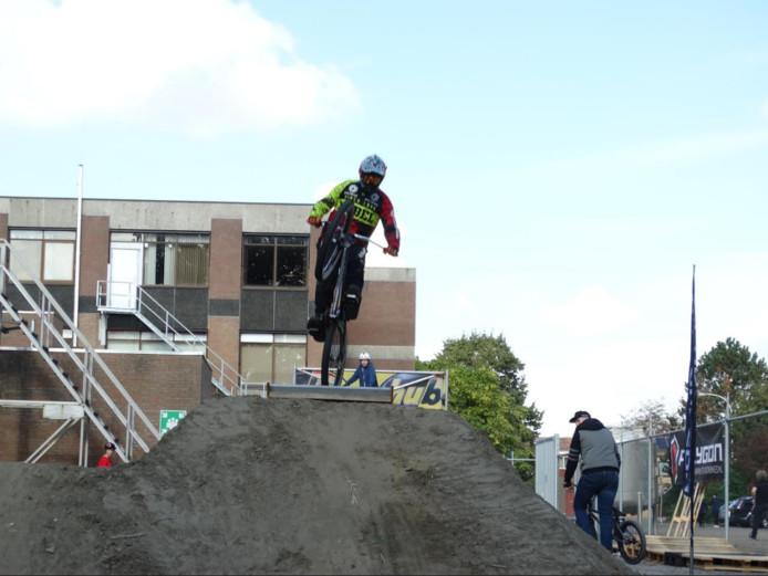 De BMX'er Ramon Kroon