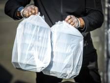 Door corona getroffen Inloopschip en Loods met maaltijden geholpen door Rotary en restaurants