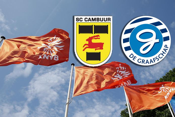 KNVB is nog altijd in overleg met Cambuur en De Graafschap.