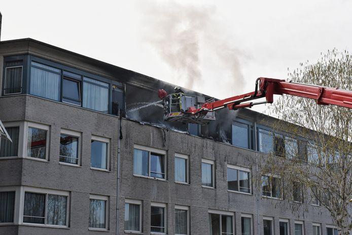 Brand in woonzorgcentrum Tilburg