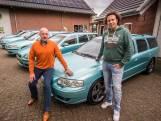 Enschede is even het decor van zeldzame V70R in metallic groen