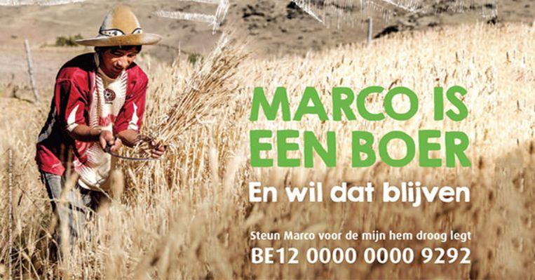 De actie steunt een boerenproject van Broederlijk Delen.