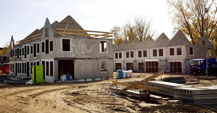 De bouw van Hofstede kan beginnen (foto is niet in Rucphen gemaakt).