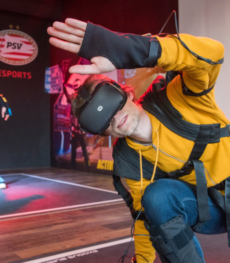 Met je hele lichaam gamen en zweten in virtuele wereld