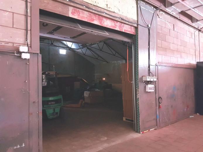 Illegale tabaksfabriek in Dongen.