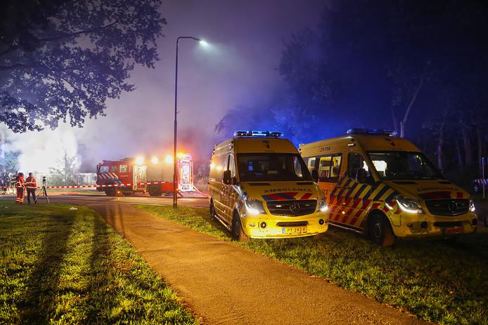 Brand in woning aan Aengelbertlaan in Oss