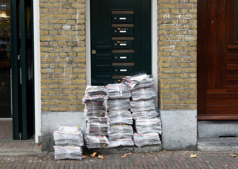 Na De Echo blijven buurtkranten over die hyperlokaal zijn: alleen gericht op een stadsdeel.   Beeld Hollandse Hoogte / Peter Hilz