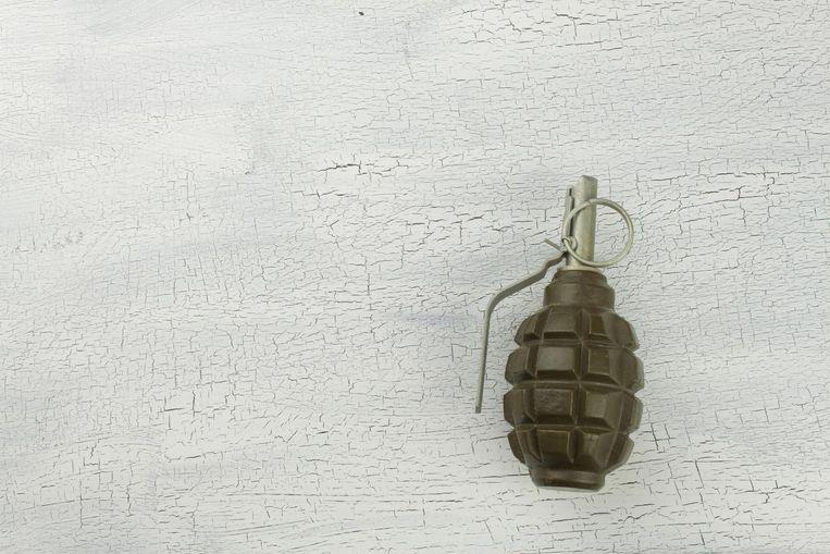 De jongen kwam op school aan met een granaat die hij gevonden had op een militair terrein.