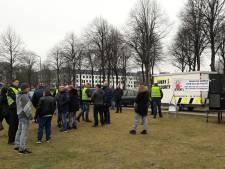 Kleine opkomst bij demonstratie tegen politiegeweld na dood Selier