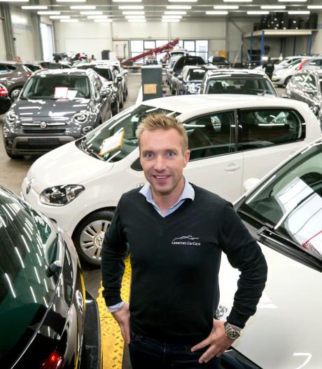 Tilburgs bedrijf Leseman Car Care springt rivieren over: auto's maar ook mensen oplappen