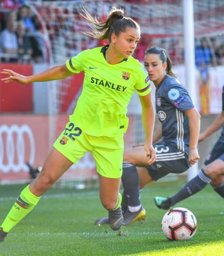 Martens zet met Barça grote stap richting CL-finale, Van de Sanden kijkt toe bij zege Lyon