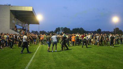 Ultra's KRC Genk slaags met fans Racing Mechelen