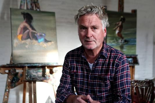 Mart Franken: ik speel graag met licht en donker in mijn schilderijen
