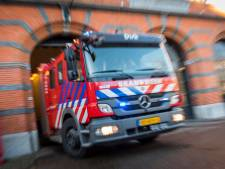 Brandweer Groningen: Brand in Waterloolaan woedde alleen in portiek