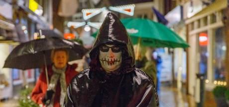 Ebenezer Scrooge komt tot leven in de Solwerderstraat in Appingedam