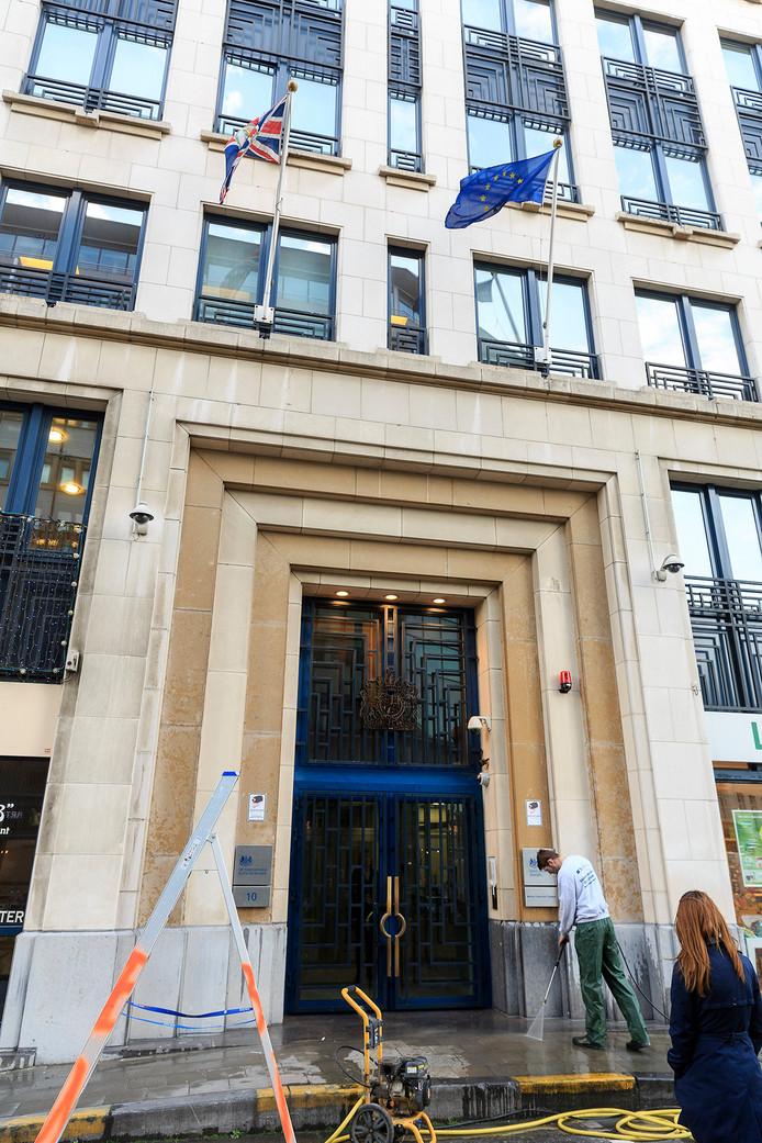 Représentation du Royaume-Uni auprès de l'Union européenne, à Bruxelles