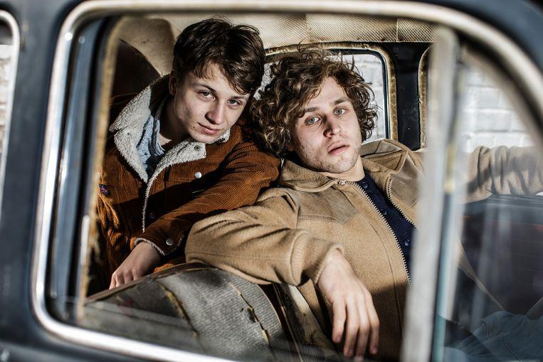 Broers Janus (l.) en Lennert Coorevits: 'Als tieners waren we aartsvijanden.'