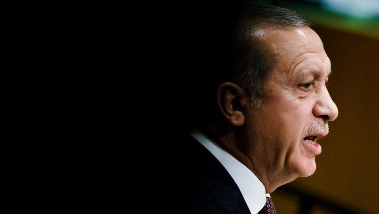 De Turkse premier Erdogan Beeld epa