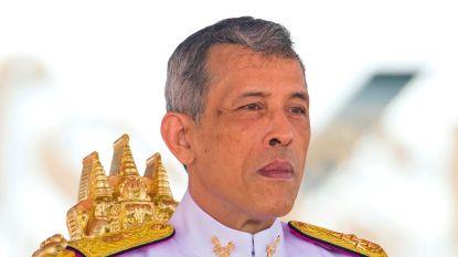 Thaise koning verlaat luxehotel in Duitsland en keert (zonder quarantaine) terug naar huis