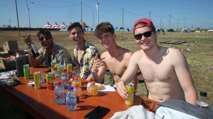 """IN BEELD. Vestivillegangers bijna allemaal weg uit Lommel: """"Hiphopfeestje op camping was geweldig"""""""