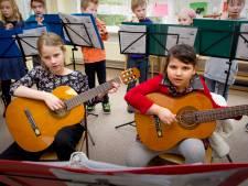 Muziekles voor drie generaties in Druten