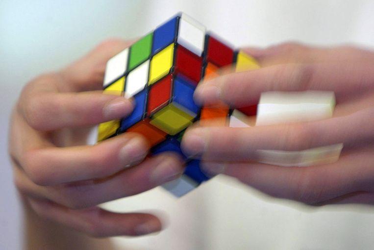 Rubiks kubus. (AFP) Beeld